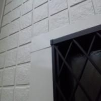 窓の廻りのアップ