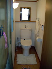 トイレ工事完成