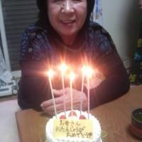 母親の誕生日