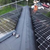 太陽光発電工事 2