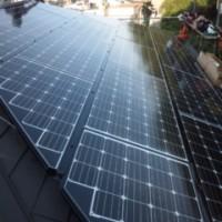 太陽光発電工事 3