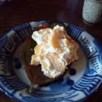 柿の白和え 2