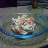 柿の白和え 1