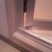 浴室ドア工事 2