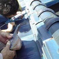 屋根修理 2