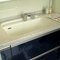 ペット(小型犬)も洗える洗面台