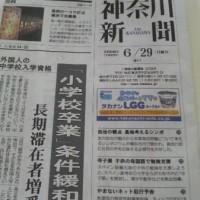 神奈川新聞 1