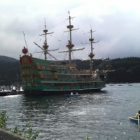 芦ノ湖の遊覧船