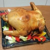 鶏肉丸焼き