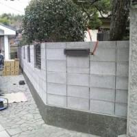 塀の工事 1