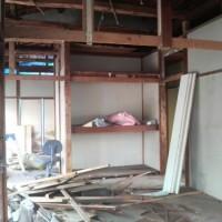 室内の解体