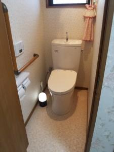 片倉トイレアフター