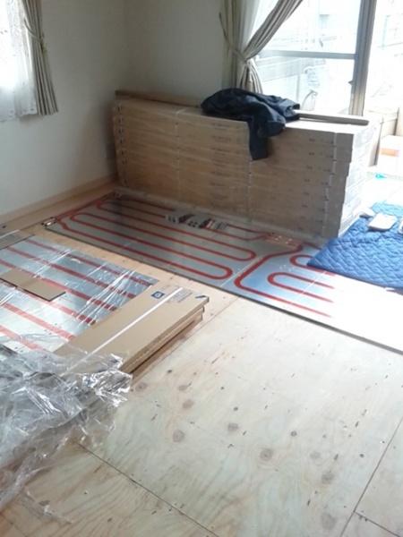 床暖房外川
