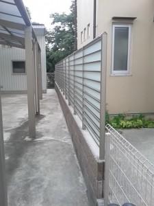 生田フェンス1